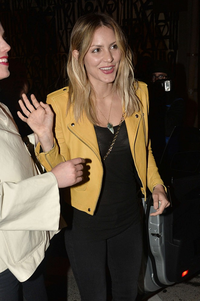 Katharine Mcphee out in Los Angeles