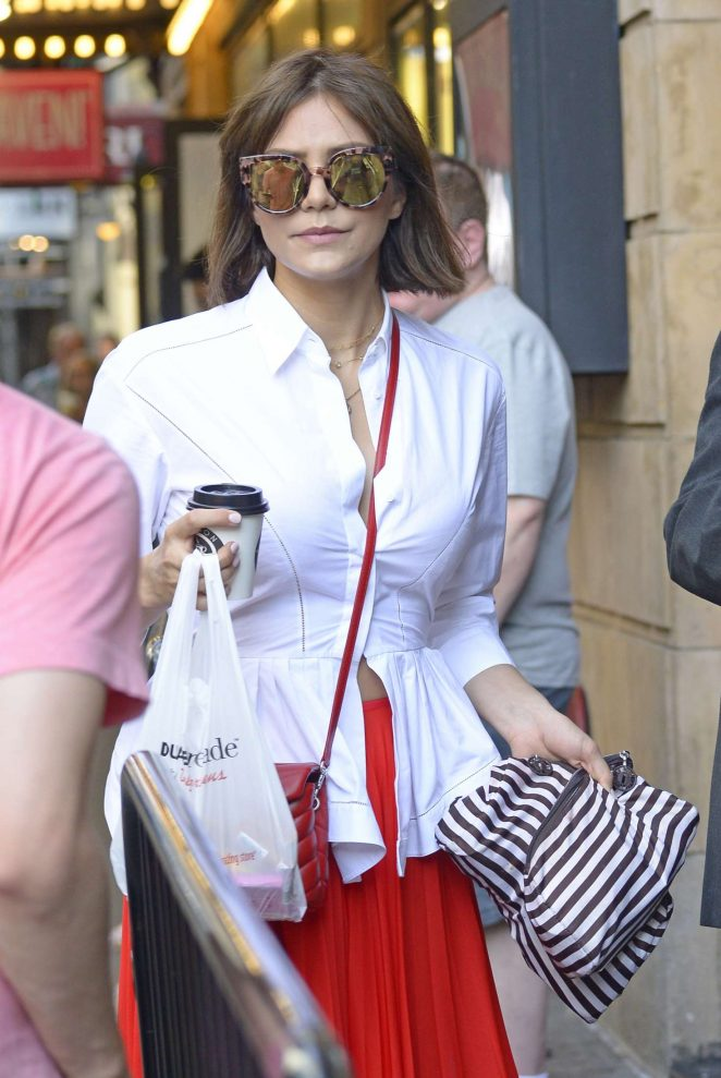 Katharine McPhee out in New York