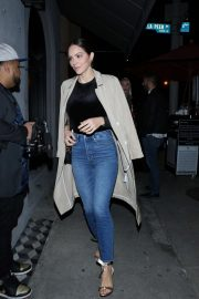 Katharine McPhee outside Craig's Restaurant in West Hollywood