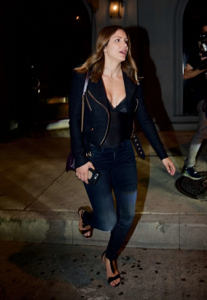 Katharine McPhee - Outside Craig's Restaurant in West Hollywood