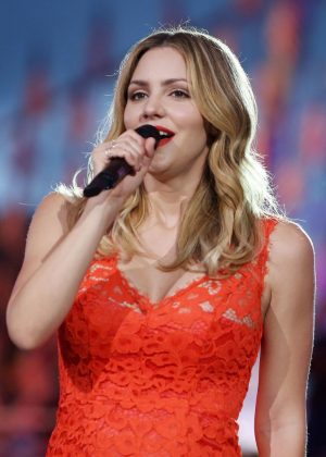 Katharine McPhee - Performs at 27th National Memorial Day Concert Rehearsals in Washington