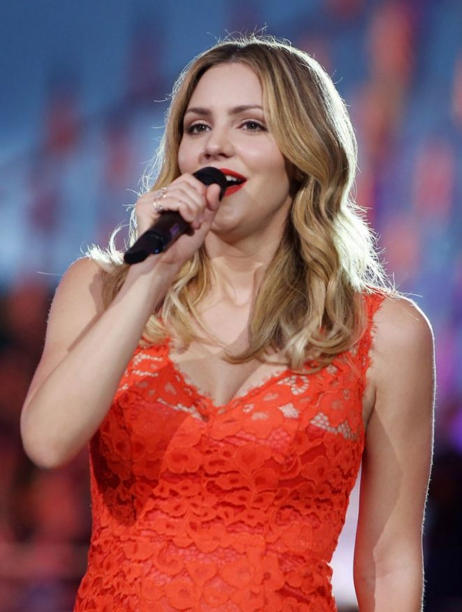 Katharine McPhee – Performs at 27th National Memorial Day Concert Rehearsals in Washington