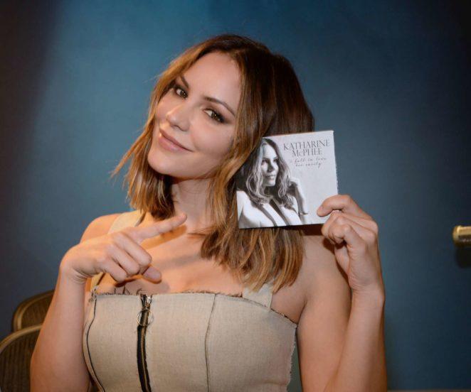 Katharine McPhee: Promoting her new album at SiriusXM -02