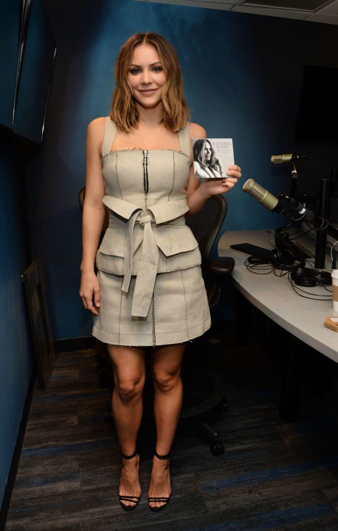Katharine McPhee: Promoting her new album at SiriusXM -05