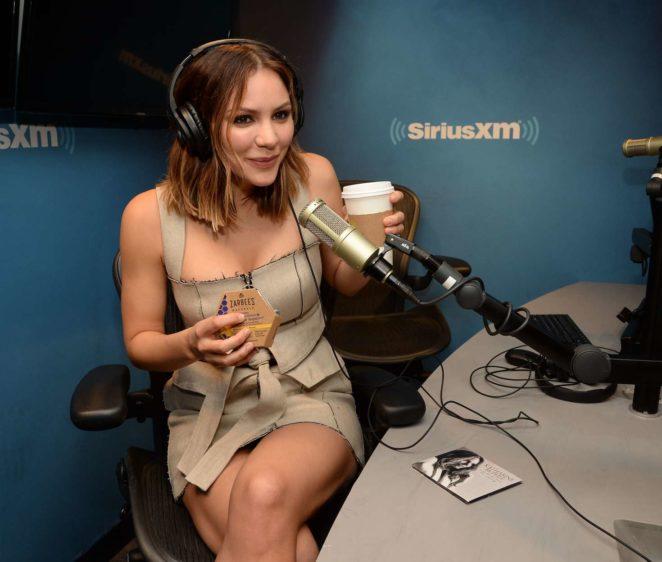Katharine McPhee: Promoting her new album at SiriusXM -09