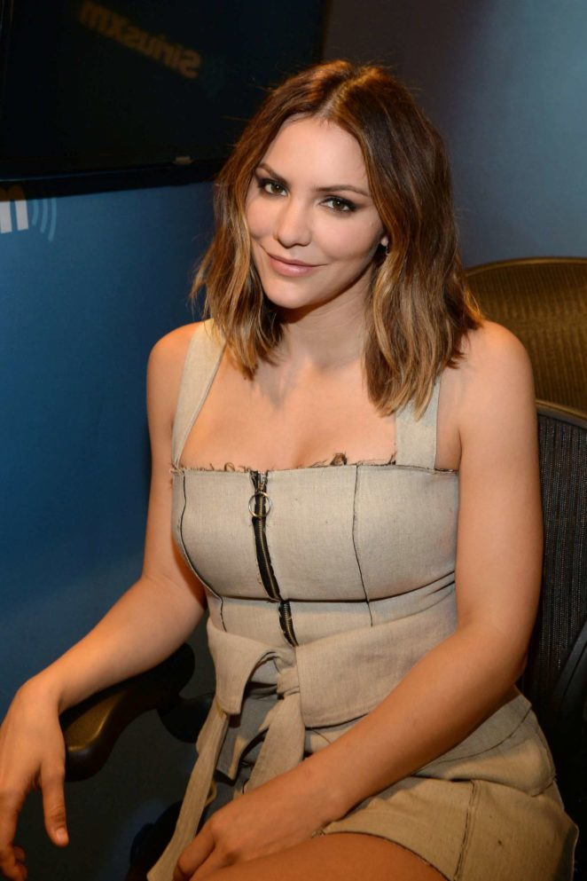 Katharine McPhee: Promoting her new album at SiriusXM -11