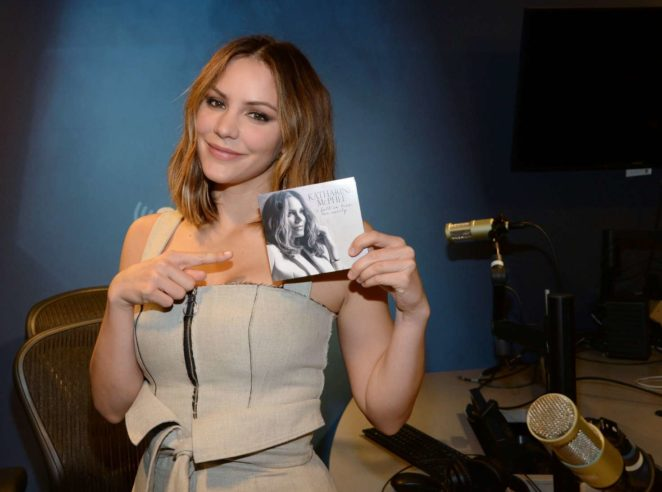 Katharine McPhee: Promoting her new album at SiriusXM -22