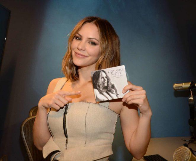 Katharine McPhee: Promoting her new album at SiriusXM -25