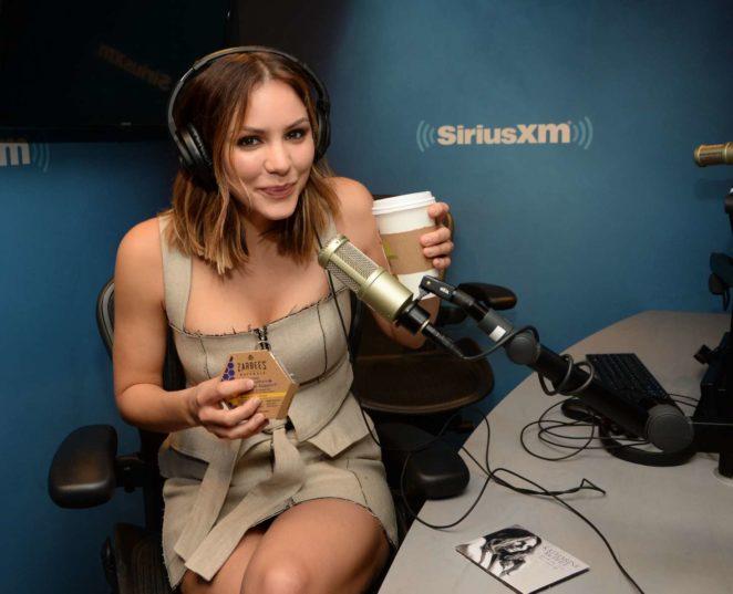 Katharine McPhee: Promoting her new album at SiriusXM -33