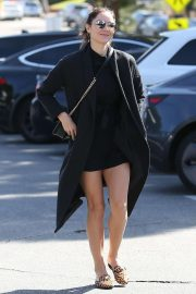 Katharine McPhee - Seen arriving at the Brentwood Country Mart