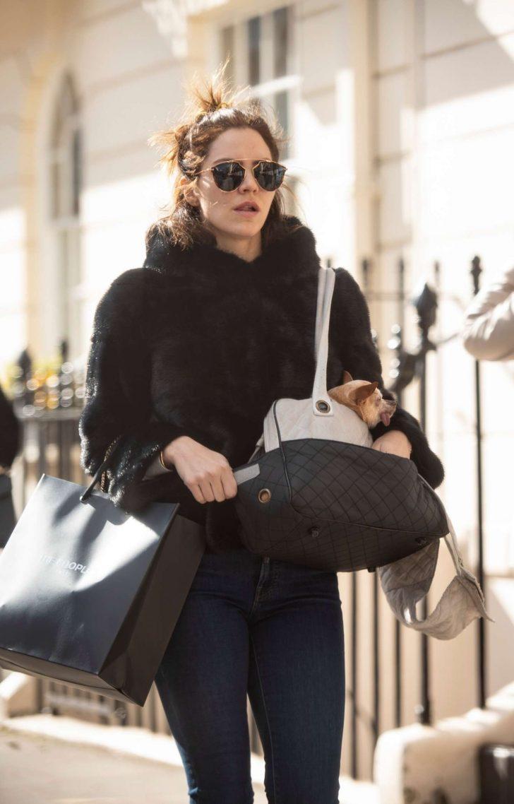 Katharine McPhee - Shopping in London