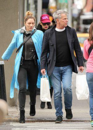 Katharine McPhee Shopping in New York