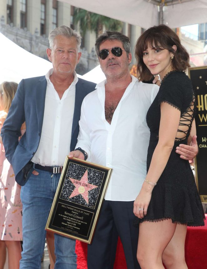 Katharine McPhee - Simon Cowell Star On The Hollywood Walk Of Fame Ceremony in LA