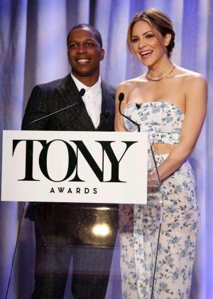 Katharine McPhee - Tony Awards Nominations in New York City