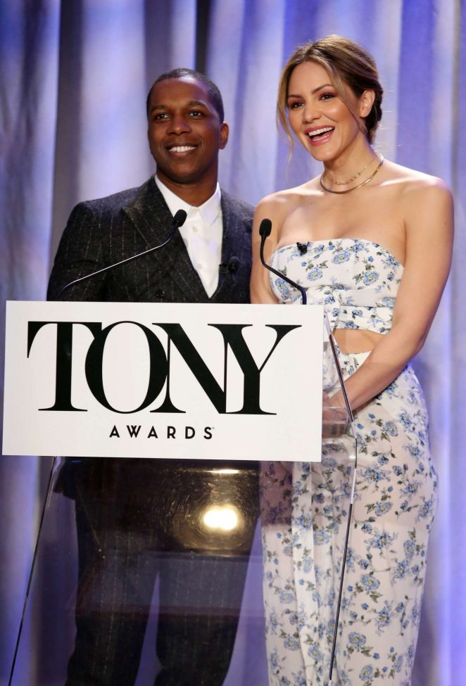 Katharine McPhee - Tony Awards Nominations in New York City