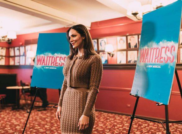 Katharine McPhee 2019 : Katharine McPhee – Waitress Press Day in New York-01