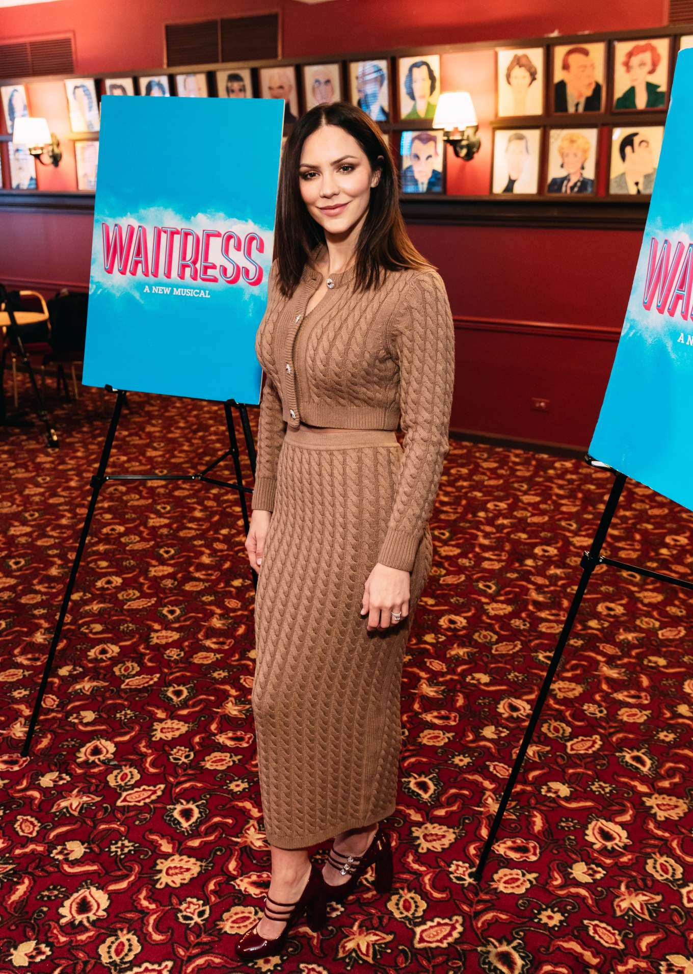 Katharine McPhee 2019 : Katharine McPhee – Waitress Press Day in New York-03