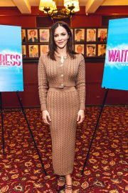 Katharine McPhee - Waitress Press Day in New York