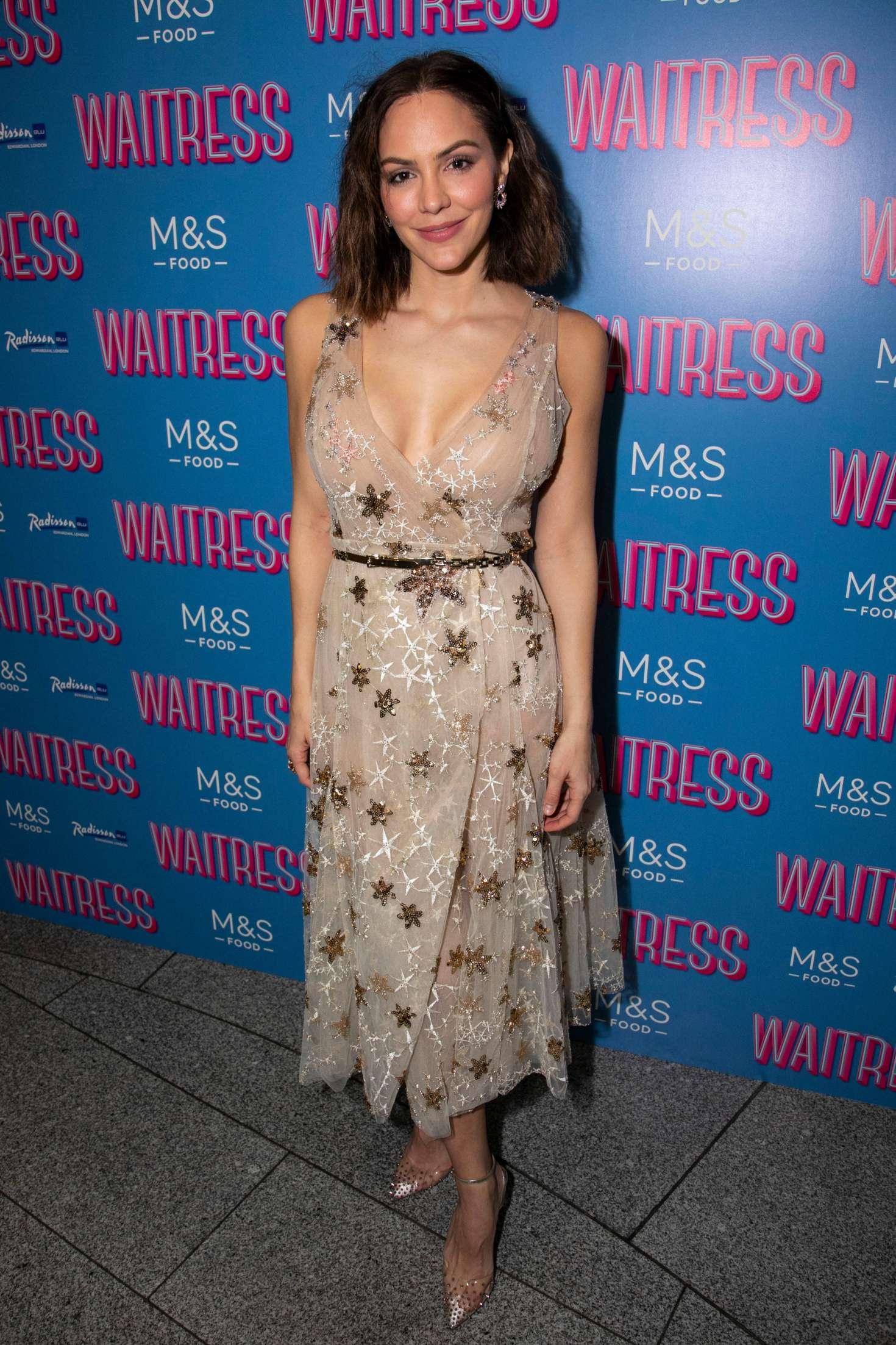 Katharine Mcphee Waitress The Musical Musical Press Night 07 Gotceleb