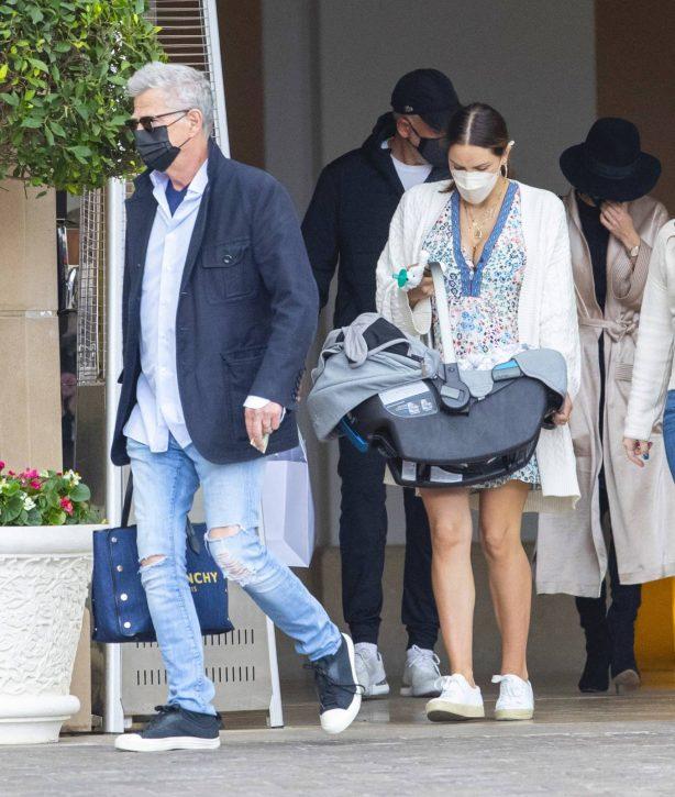 Katharine McPhee - With David Foster enjoy a birthday brunch in Beverly Hills