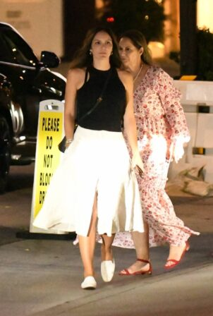 Katharine McPhee - With friends at Mr. Chow in Beverly Hills
