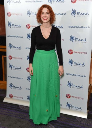 Katharine Welby - 2015 Mind Media Awards in London