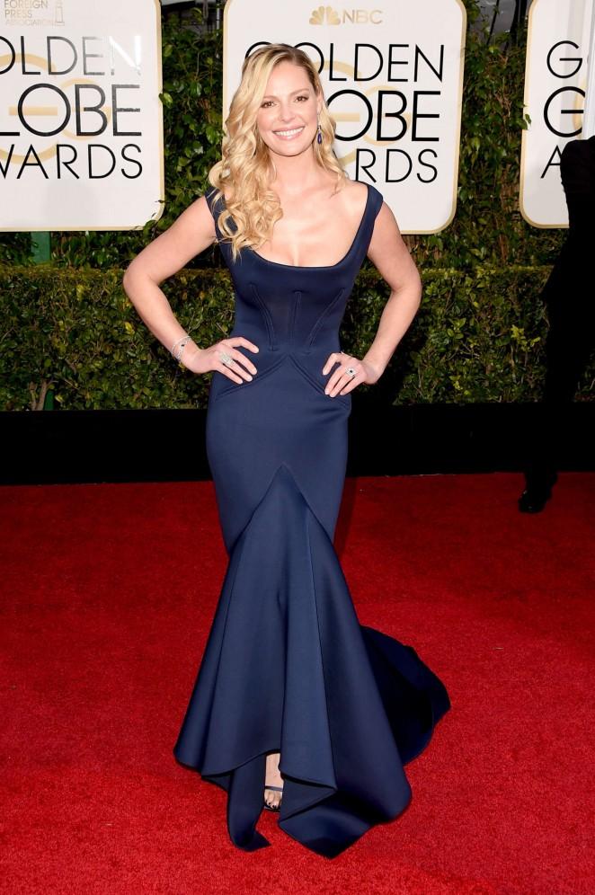 Katheine Heigl - 2015 Golden Globe Awards in Beverly Hills