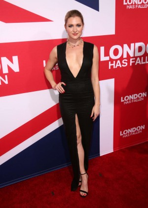 Katherine Bailess - 'London Has Fallen' Premiere in Los Angeles