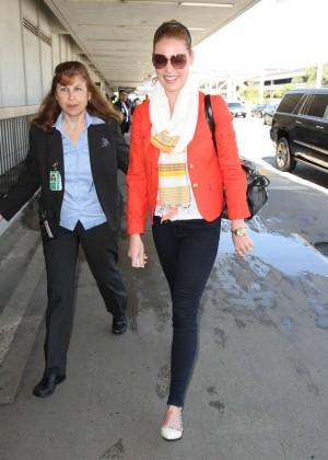 Katherine Heigl at LAX Airport in LA