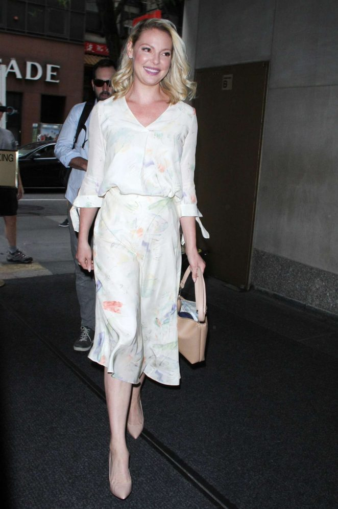 Katherine Heigl at Today Show in New York City