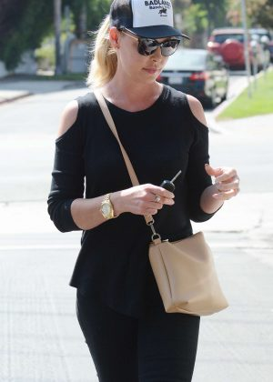 Katherine Heigl - Out in Los Angeles