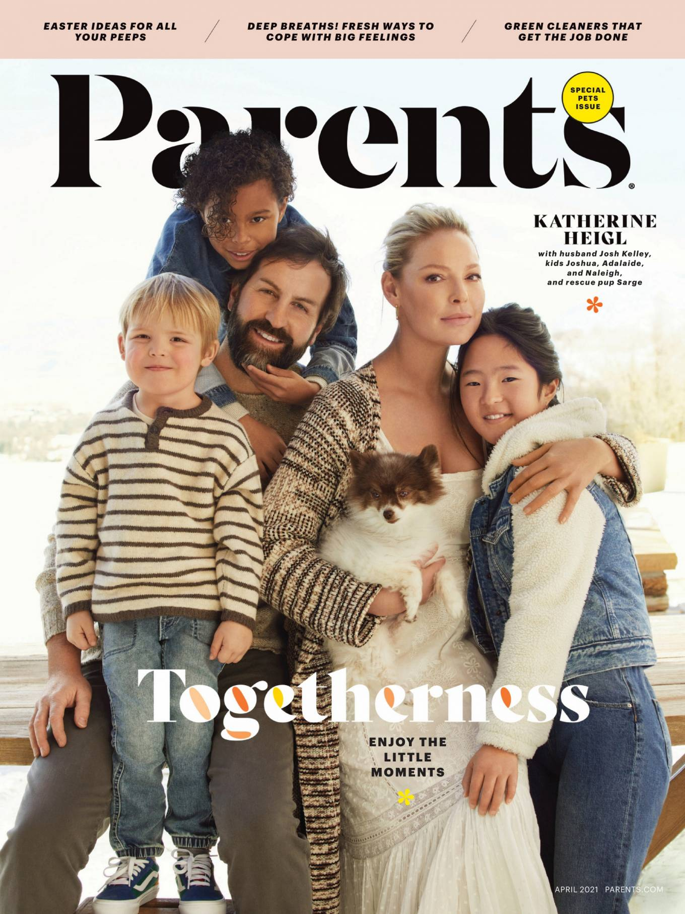 Katherine Heigl - Parents Magazine (April 2021)