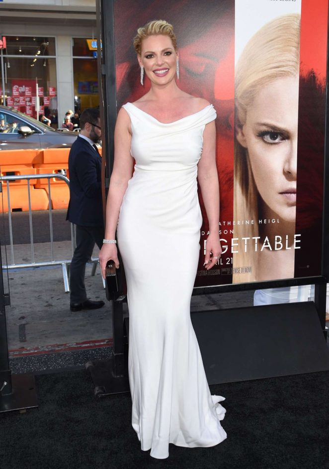 Resultado de imagem para Katherine heigl dress unforgettable premiere