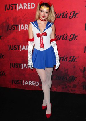 Katherine Hughes - Just Jared's 7th Annual Halloween Party in LA