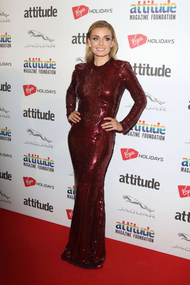 Katherine Jenkins - 2018 Attitude Magazine Awards in London