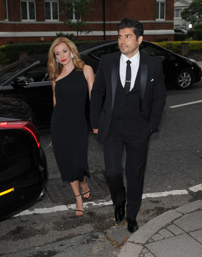 Katherine Jenkins at Hope and Homes For Children: End The Silence Gala Dinner -09