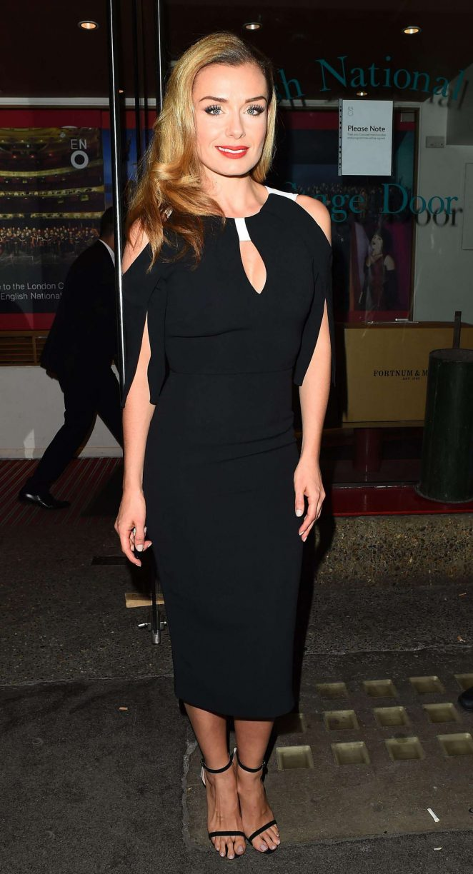 Katherine Jenkins - Carousel Musical Press Night in London