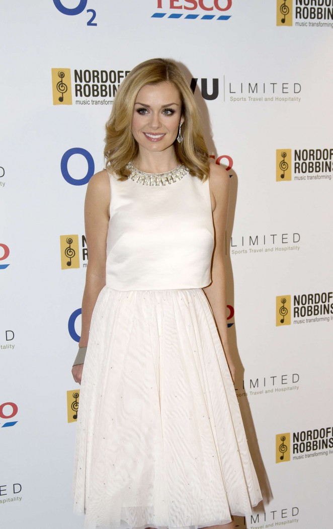 Katherine Jenkins - Nordoff Robbins Six Nations Championship Rugby Dinner in London