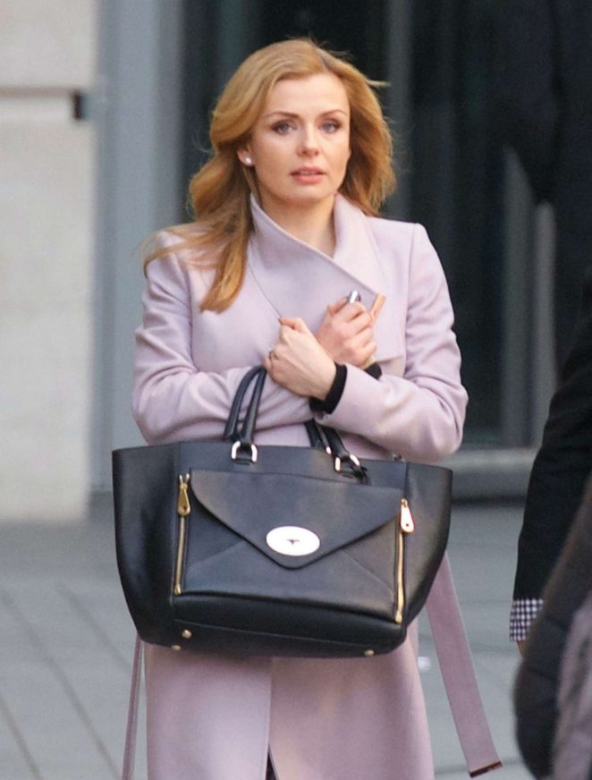 Katherine Jenkins out in London