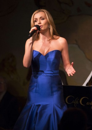 Katherine Jenkins - Solo Debut at Carlyle Hotel in New York City