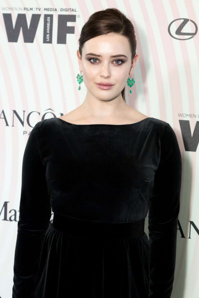 Katherine Langford - 2018 Women In Film Crystal and Lucy Awards in Los Angeles