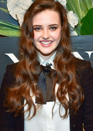 Katherine Langford - E!, Elle and Img Host Kickoff Party in New York