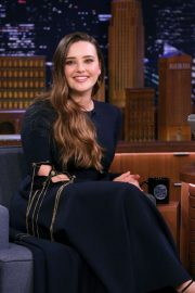 Katherine Langford - On 'The Tonight Show Starring Jimmy Fallon' in NYC