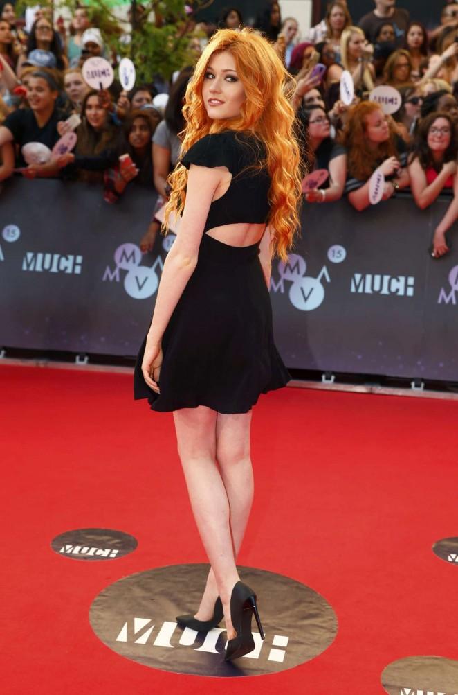 Katherine McNamara - MuchMusic Video Awards 2015 in Toronto