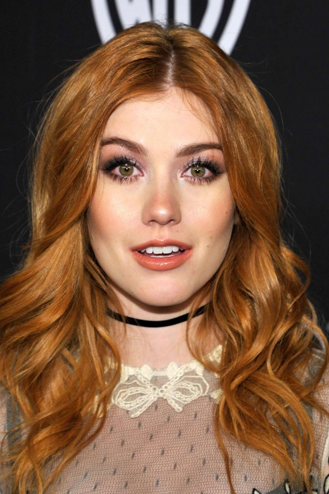 Katherine McNamara: 2017 InStyle and Warner Bros Golden Globes After Party -01