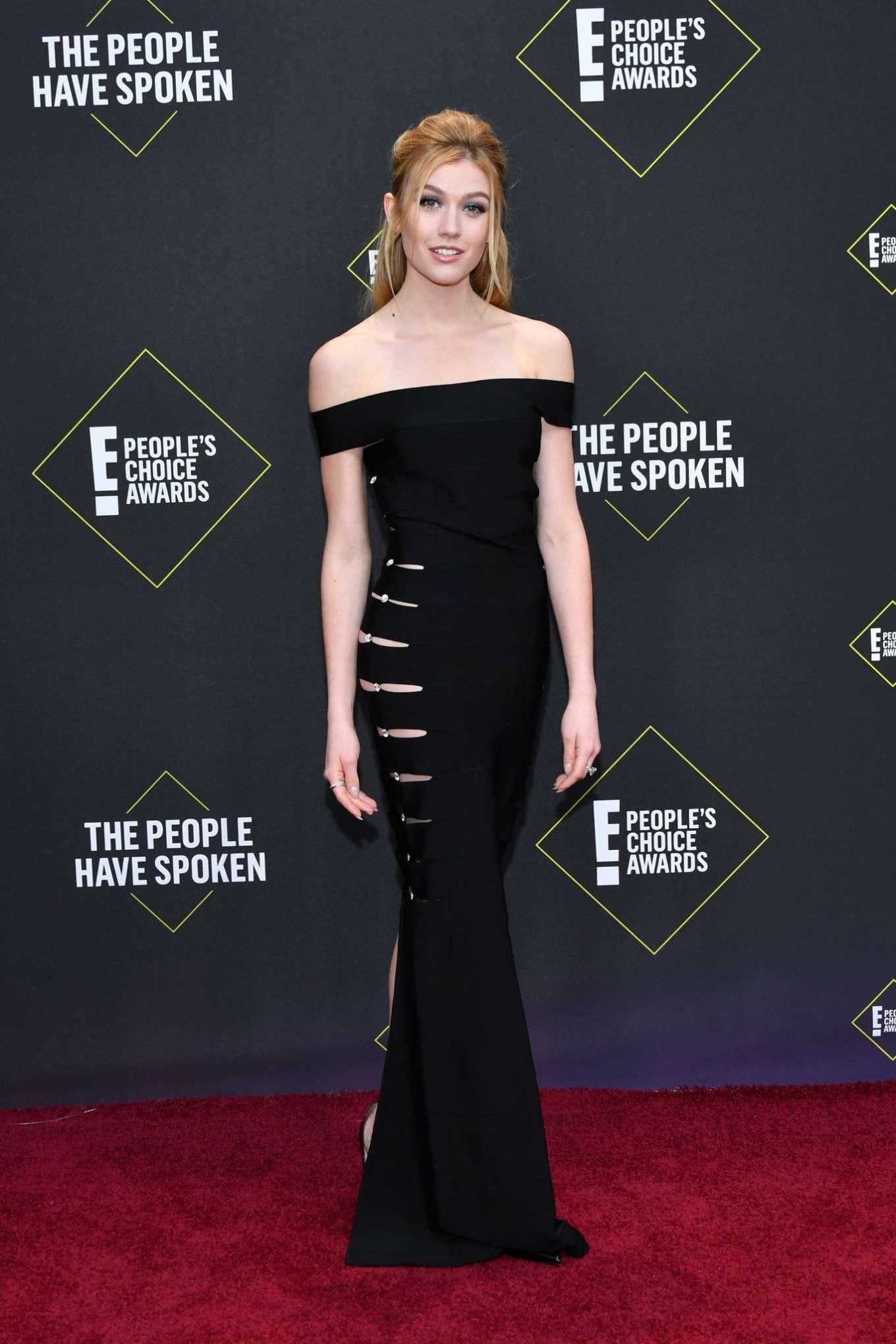 Katherine McNamara - 2019 E! People's Choice Awards in Santa Monica