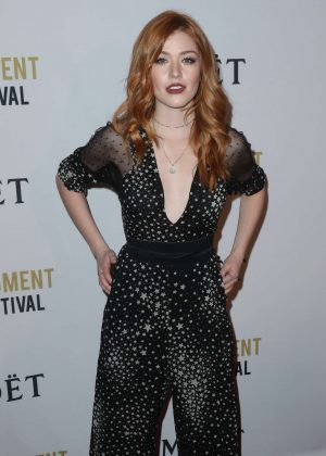 Katherine McNamara - 2nd Annual Moet Moment Film Festival in Los Angeles