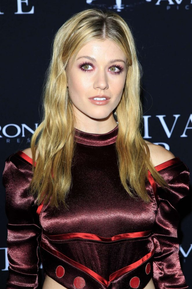 Katherine McNamara - 'A Private War' Premiere in Los Angeles