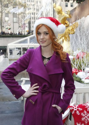 Katherine McNamara - ABC Family's 2015 Winter Wonderland in NYC