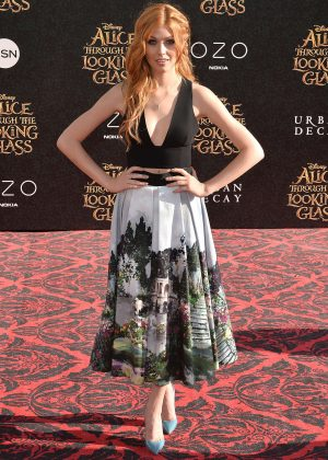 Katherine McNamara - 'Alice Through The Looking Glass' Premiere in Hollywood